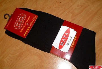 Pack 3 calcetines hombre tallas grandes 10639
