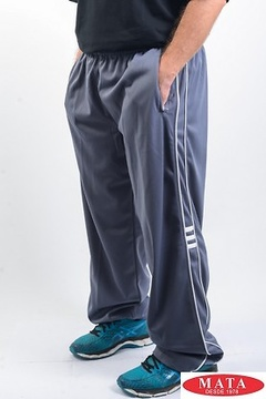Pantalón chándal hombre gris 07992