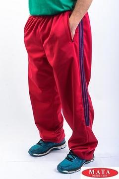 Pantalón chándal hombre morado 04034
