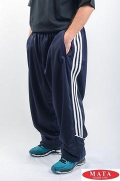 Pantalón chandal hombre marino tallas grandes 04034