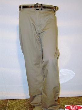Pantalón hombre arena 02672