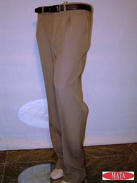 Pantalón hombre beige tostado 00216