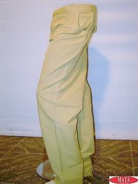Pantalón hombre camel 07657