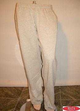 Pantalón hombre gris 08975