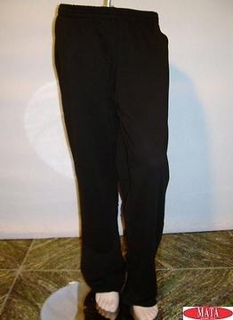 Pantalón hombre negro 08975