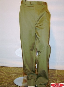 Pantalón hombre verde 08959