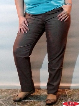 Pantalón mujer tallas grandes 15387