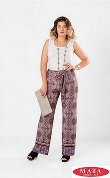 Pantalón mujer tallas grandes 18415