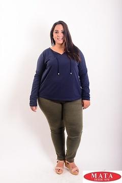 Pantalón mujer tallas grandes 19138