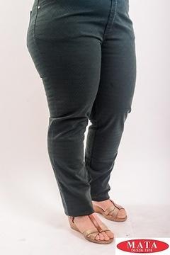 Pantalón mujer tallas grandes 19140