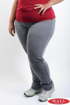 Pantalón mujer tallas grandes 19356