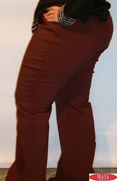 Pantalón tallas grandes mujer 02177