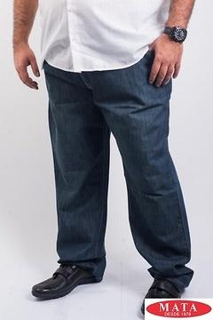 Pantalón vaquero hombre con cremallera 05852