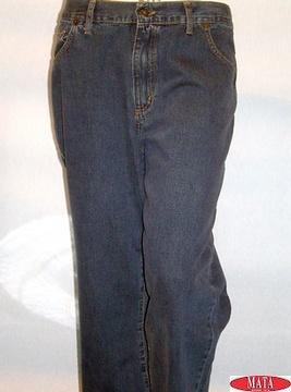 Pantalón vaquero hombre tallas grandes 01665