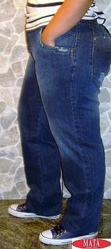 Pantalón vaquero hombre tallas grandes 11320