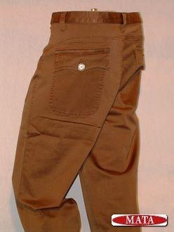Pantalón vaquero marrón 02218