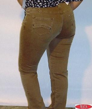 Pantalón vaquero mujer tallas grandes 06367