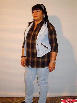 Pantalón vaquero mujer tallas grandes 10248