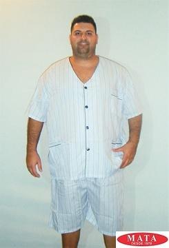 Pijama hombre tallas grandes 16020
