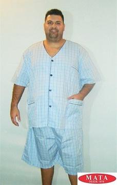 Pijama hombre tallas grandes 16021