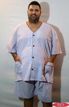 Pijama hombre tallas grandes 16024
