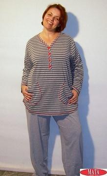 Pijama mujer tallas grandes 13711