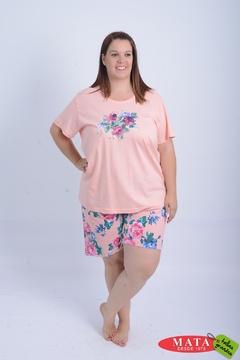 Pijama mujer tallas grandes 21003
