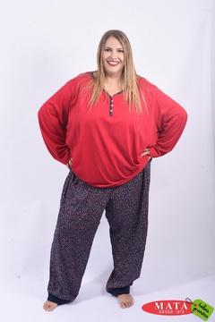 Pijama mujer tallas grandes 22155