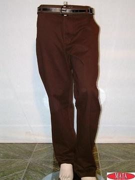 Vaquero hombre marrón 02545
