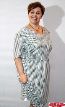 Vestido mujer tallas grandes 17238