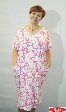 Vestido mujer tallas grandes 17460