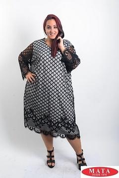 Vestido mujer tallas grandes 19555