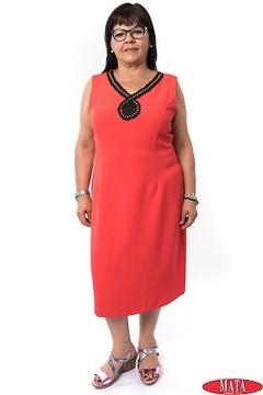Vestido mujer tallas grandes 20315