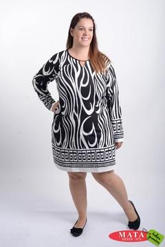 Vestido mujer tallas grandes 20598