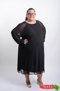 Vestido mujer tallas grandes 20657