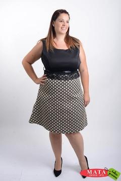 Vestido mujer tallas grandes 20662