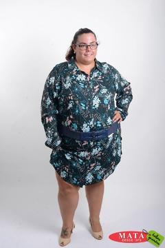 Vestido mujer tallas grandes 20702