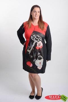 Vestido mujer tallas grandes 20724