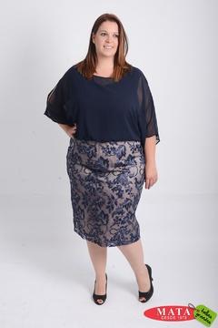 Vestido mujer tallas grandes 21038