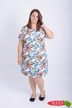 Vestido mujer tallas grandes 21076