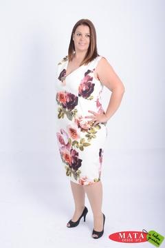 Vestido mujer tallas grandes 21105