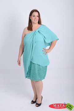 Vestido mujer tallas grandes 21106