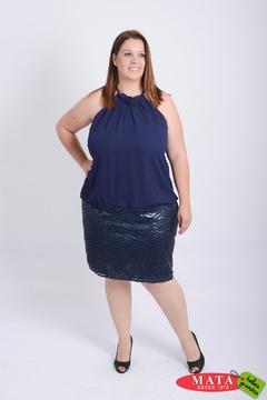 Vestido mujer tallas grandes 21108