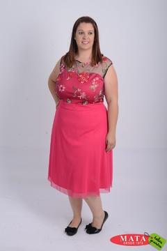 Vestido mujer tallas grandes 21136