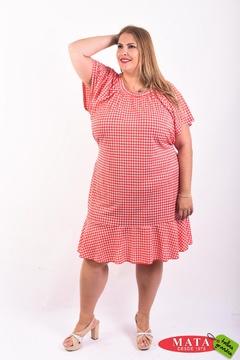 Vestido mujer tallas grandes 21145