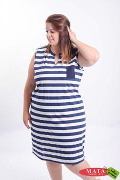 Vestido mujer tallas grandes 21213