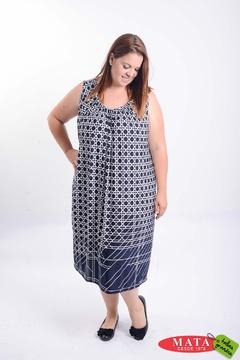 Vestido mujer tallas grandes 21216