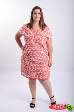 Vestido mujer tallas grandes 21253