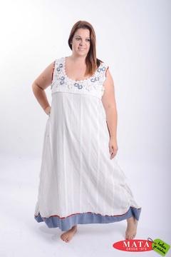 Vestido mujer tallas grandes 21262