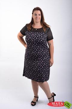 Vestido mujer tallas grandes 21483